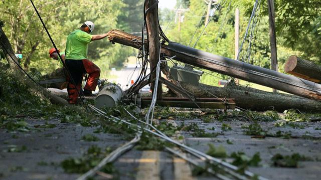 Summer Storms Kill 13, Leave 2 Million Without Power