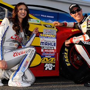 Out Front with Miss Coors Light: Toyota Owners 400