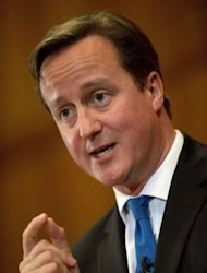 "<p>Britain's Prime Minister David Cameron's, shown October 22, 2012, has sparked a political row by declaring that ""good news will keep coming"" on the economy this week.</p>"