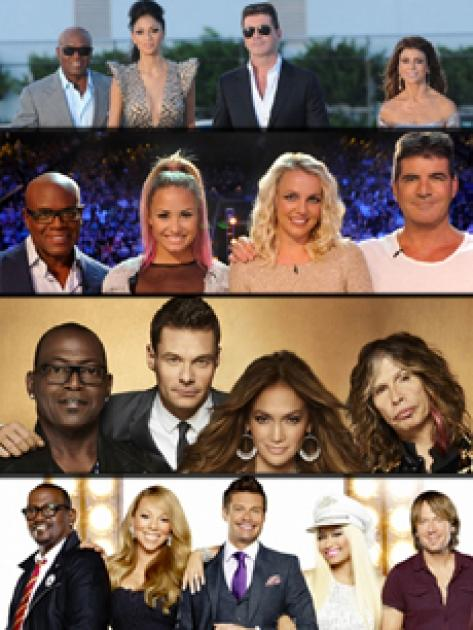 'The X Factor' and 'American Idol' judges shakeups -- FOX