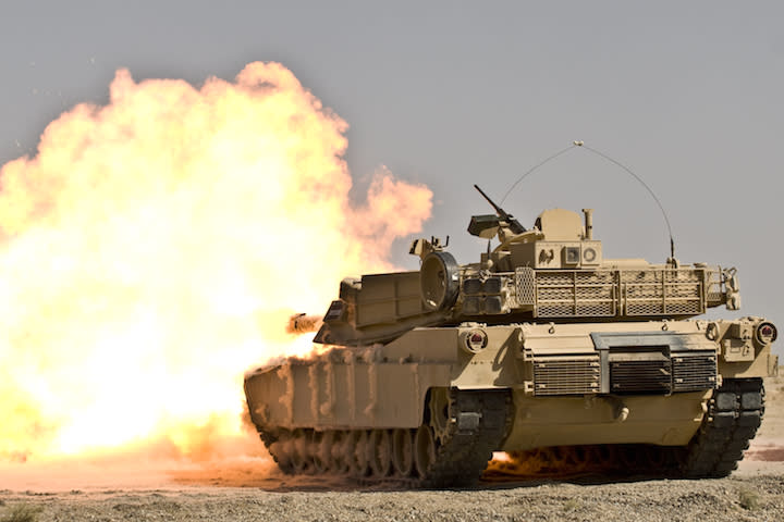 Whispering Death: The Story of the M1 Abrams Tank