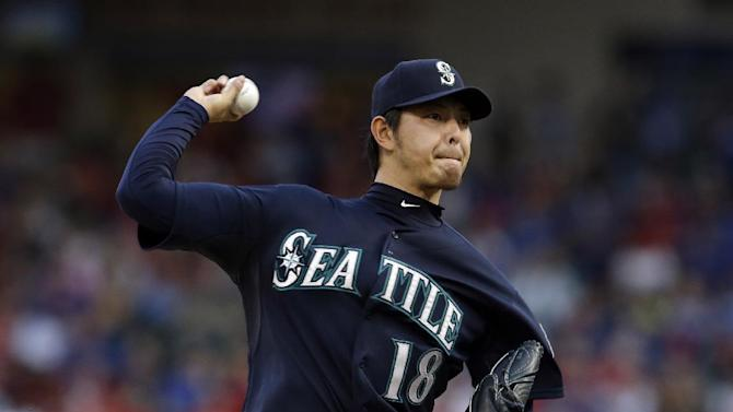 Seager leads Mariners past Rangers 6-2