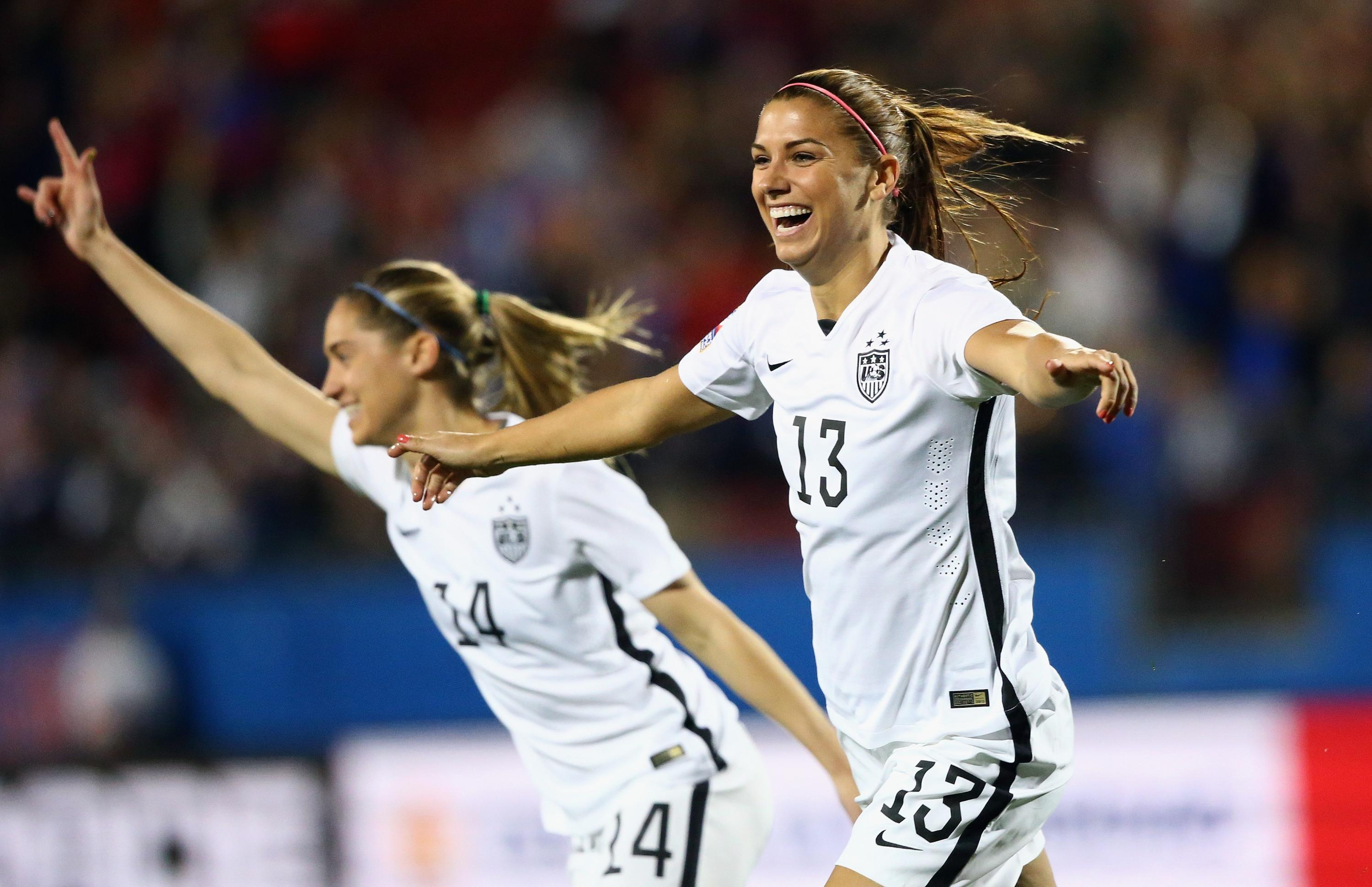 U.S. women kick off Olympic qualifying with 5-0 win over Costa Rica