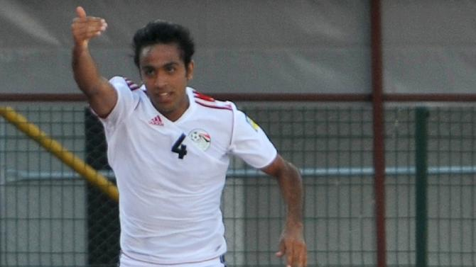 Egypt moved closer this weekend to a record-extending 12th Olympic Games football appearance by an African country while their star Kahraba, pictured on June 23, 2013, confirmed he is a master goal-poacher
