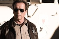 This film image released by Lionsgate shows Arnold Schwarzenegger in a scene from, &quot;The Last Stand.&quot; (AP Photo/Lionsgate, Merrick Morton)