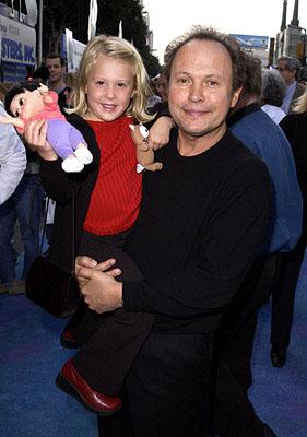 Mary Gibbs and Billy Crystal at the Hollywood premiere of Monsters, Inc.