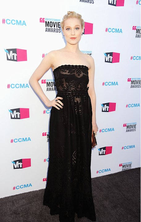 17th annual critics choice awards 2012 Evan Rachel Wood