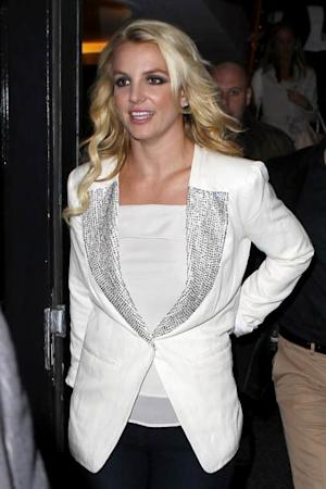 Britney Spears is seen at KISS FM UK on October 16, 2013 in London -- Getty Images
