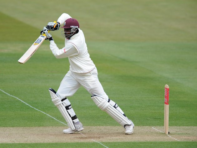 Chris Gayle fell cheaply for hosts West Indies