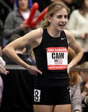Mary Cain set another national record at the Drake Relays — AP