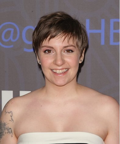 Lena Dunham attends Cinema Society presents the world premiere of &#39;Girls&#39; season 2 at NYU Skirball Center in New York City on January 9, 2013 -- Getty Premium