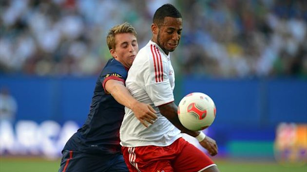Hamburger SV FC Barcelona Friendly Match Deulofeu Aogo
