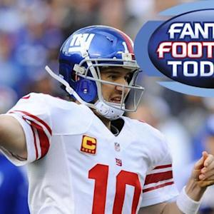 Fantasy Football Today: Matchup Madness (12/13)