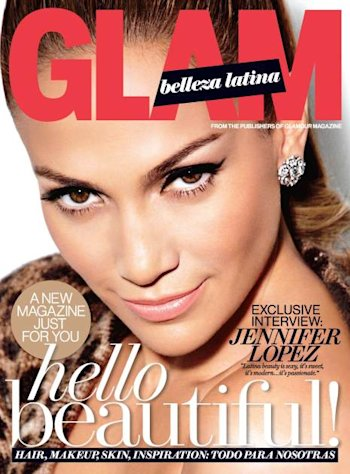 Jennifer Lopez on the cover of Glam Belleza Latina, 2013 -- Glam Belleza