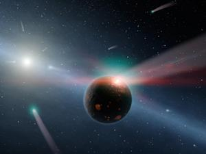 'Exocomets' Common Across Milky Way Galaxy
