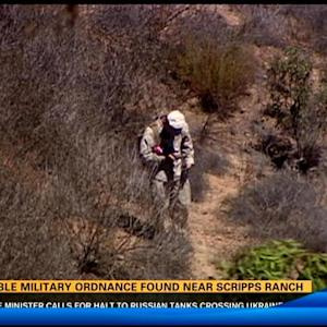 Possible military ordnance found near Scripps Ranch