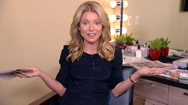 Kelly Ripa on Her 'Live' Co-Host Michael Strahan