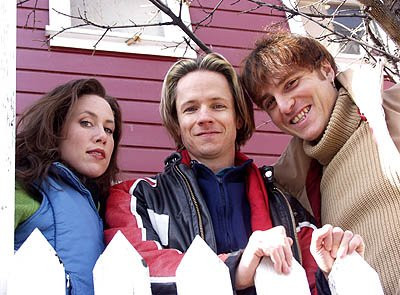 Miriam Shor, John Cameron Mitchell and Stephen Trask of Hedwig and the Angry Inch