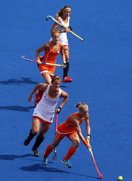 Women&amp;#39;s hockey team from Netherlands - the best looking team?