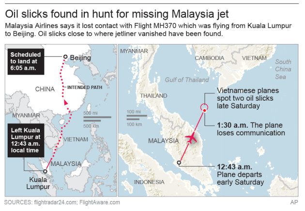 Vietnam says it may have found missing jet's door