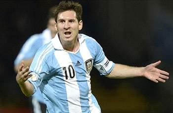 Argentina coach Sabella: Messi is happy