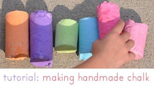 Get your hands dirty with sidewalk chalk