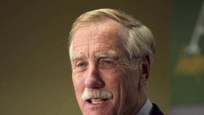 Sen. King reluctant to embrace assault weapon ban