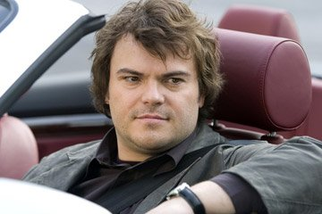 Jack Black in Columbia Pictures' The Holiday