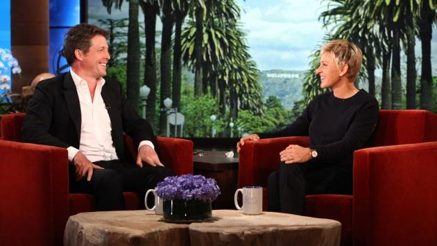 Hugh Grant visits 'The Ellen DeGeneres Show,' April 2012 -- The Ellen DeGeneres Show