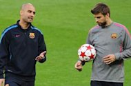 Pique: I have never had any problem with Guardiola