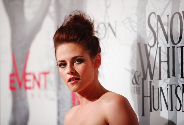 Kristen Stewart arrives at the Snow White & The Huntsman Australian Premiere at Event Cinemas Bondi Junction in Sydney, Australia on June 19, 2012 -- Getty Images