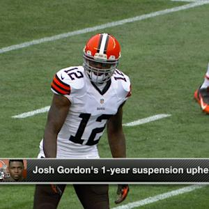 Who will take Cleveland Browns wide receiver Josh Gordon's role?