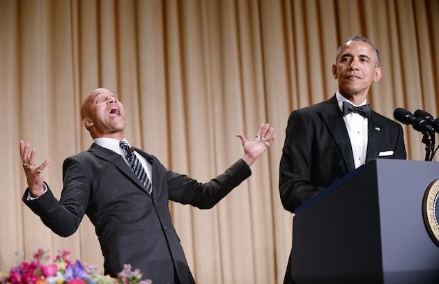 Obama Slams Cable News & Donald Trump At White House Correspondents' Dinner