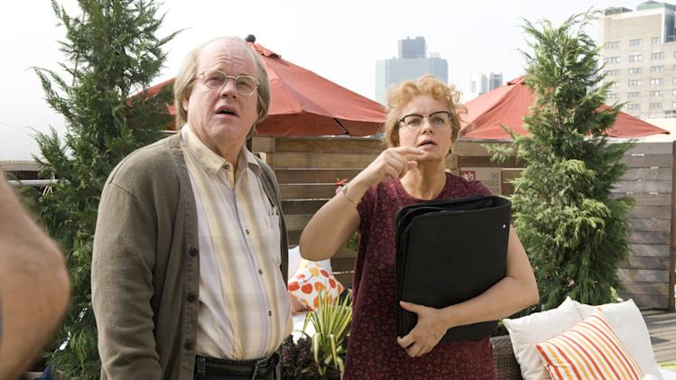 Philip Seymour Hoffman Samantha Morton Synecdoche, New York Production Stills Sony Pictures Classics 2008