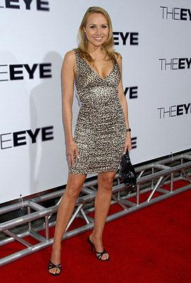 Alana Curry at the Los Angeles premiere of Lionsgate Films' The Eye