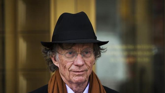 Texas investor Samuel Wyly exits the Manhattan Federal Court