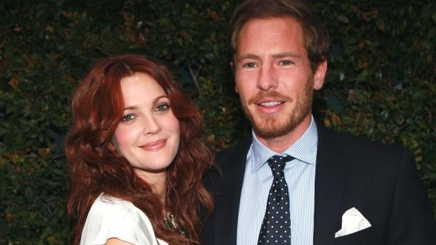Drew Barrymore and art consultant Will Kopelman attend Chanel's benefit dinner for the Natural Resources Defense Council's Ocean Initiative at the home of Ron & Kelly Meyer in Malibu, Calif. on June 4, 2011  -- Getty Images