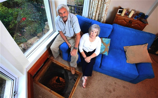 Medieval well discovered beneath couple's living room | The
