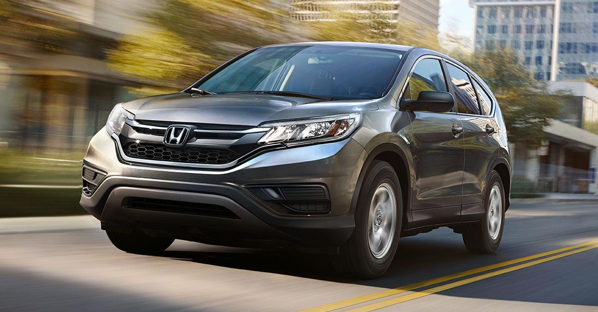 You could get a great deal on a new CR-V