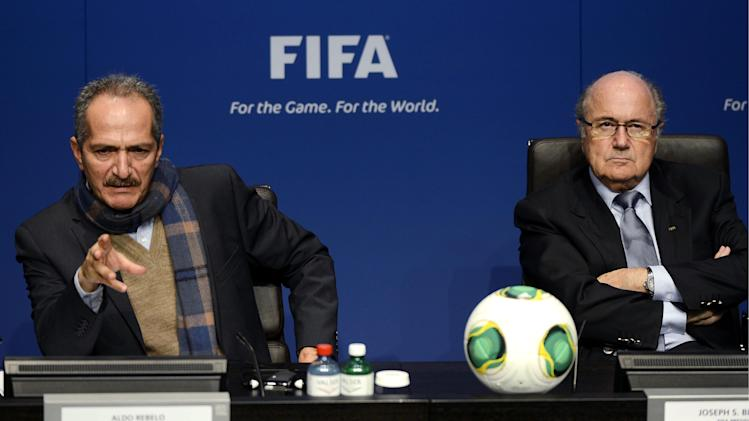 FIFA reports $89M profit on $1.16B income in 2012