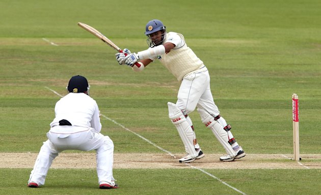 Thilan Samaraweera was the only wicket to fall in the morning session