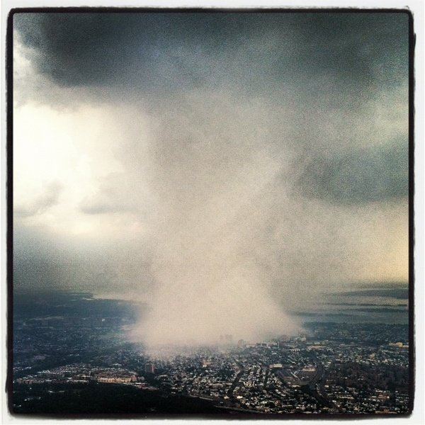 Photo: Strange Storm Socks New York City
