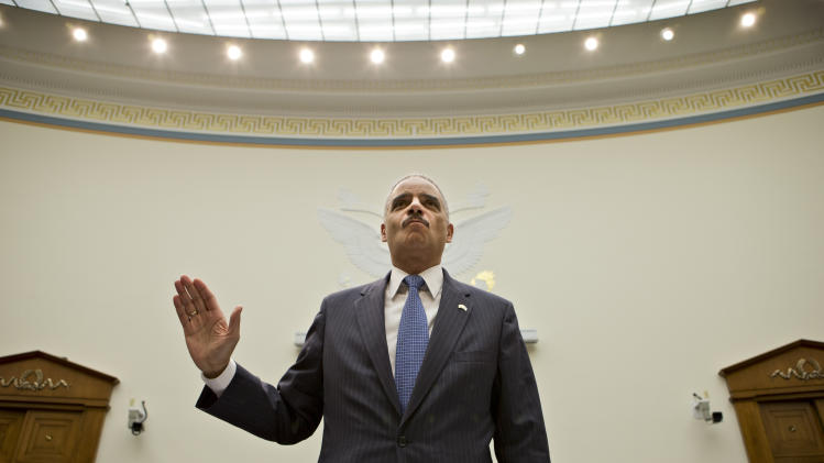 Holder defends subpoenas for AP telephone records