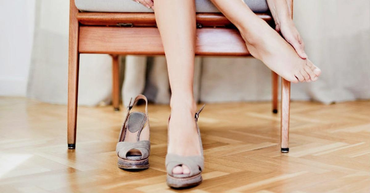 8 Ways To Cure A High Heel Hangover