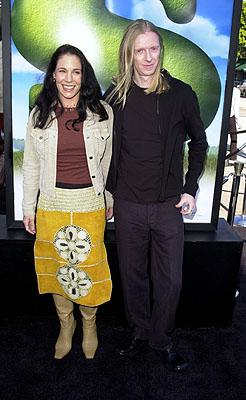 Victoria Jenson and Andrew Adamson at the Westwood, CA premiere of DreamWorks Pictures' Shrek