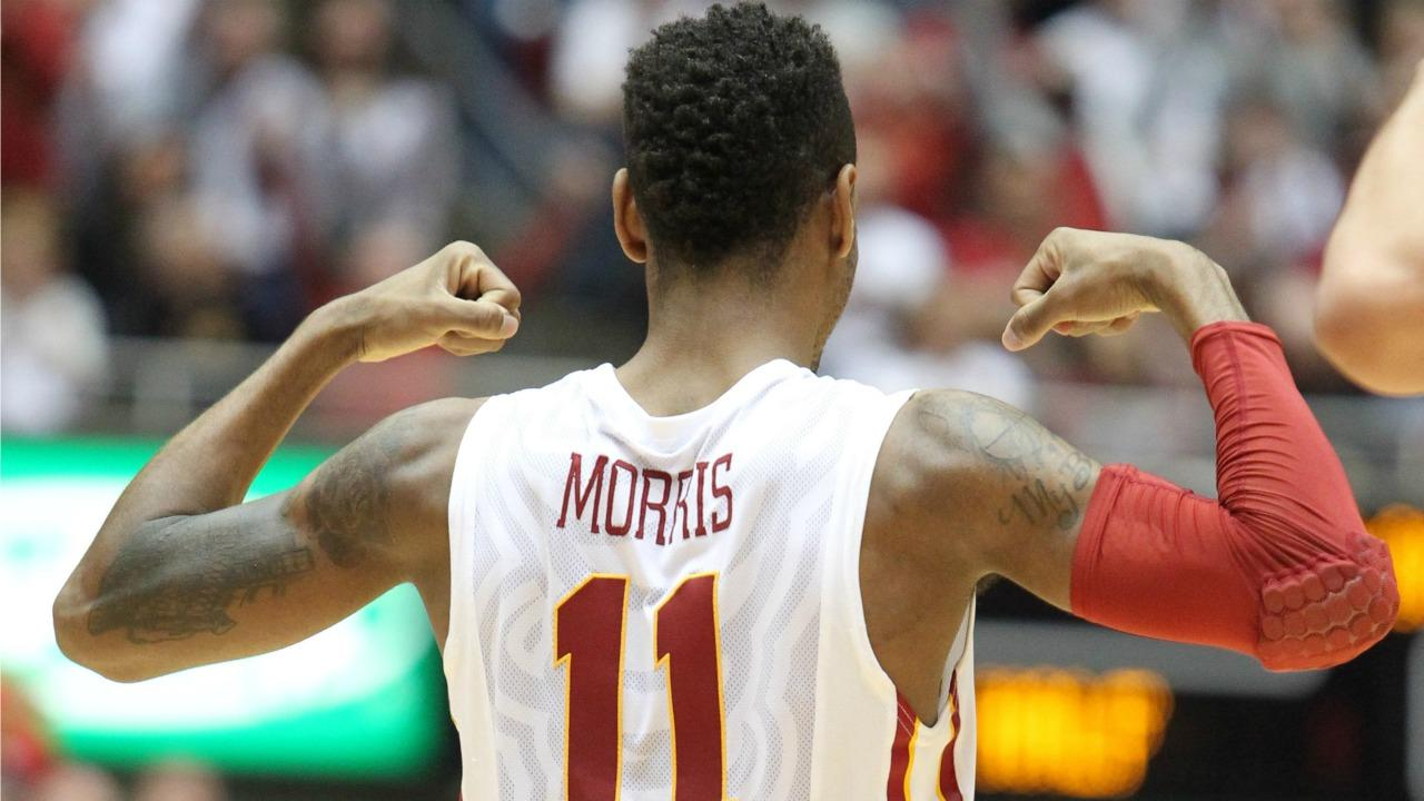 No. 17 Iowa State rallies to stun No. 15 Oklahoma 77-70