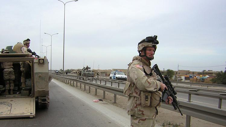 Photos and stories from Iraq War veterans