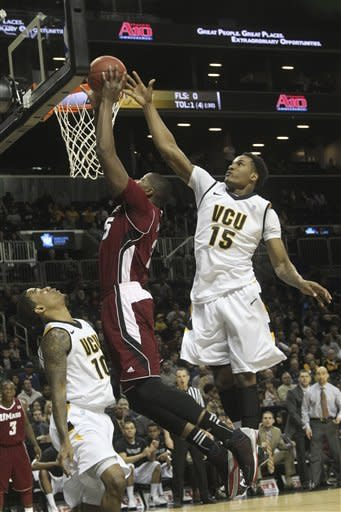 No. 25 VCU beats UMass 71-62 in A-10 semifinals