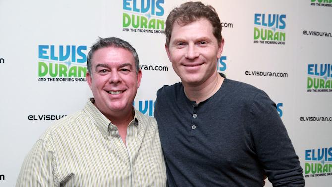 Bobby Flay Visits The Z100 Elvis Duran Morning Show