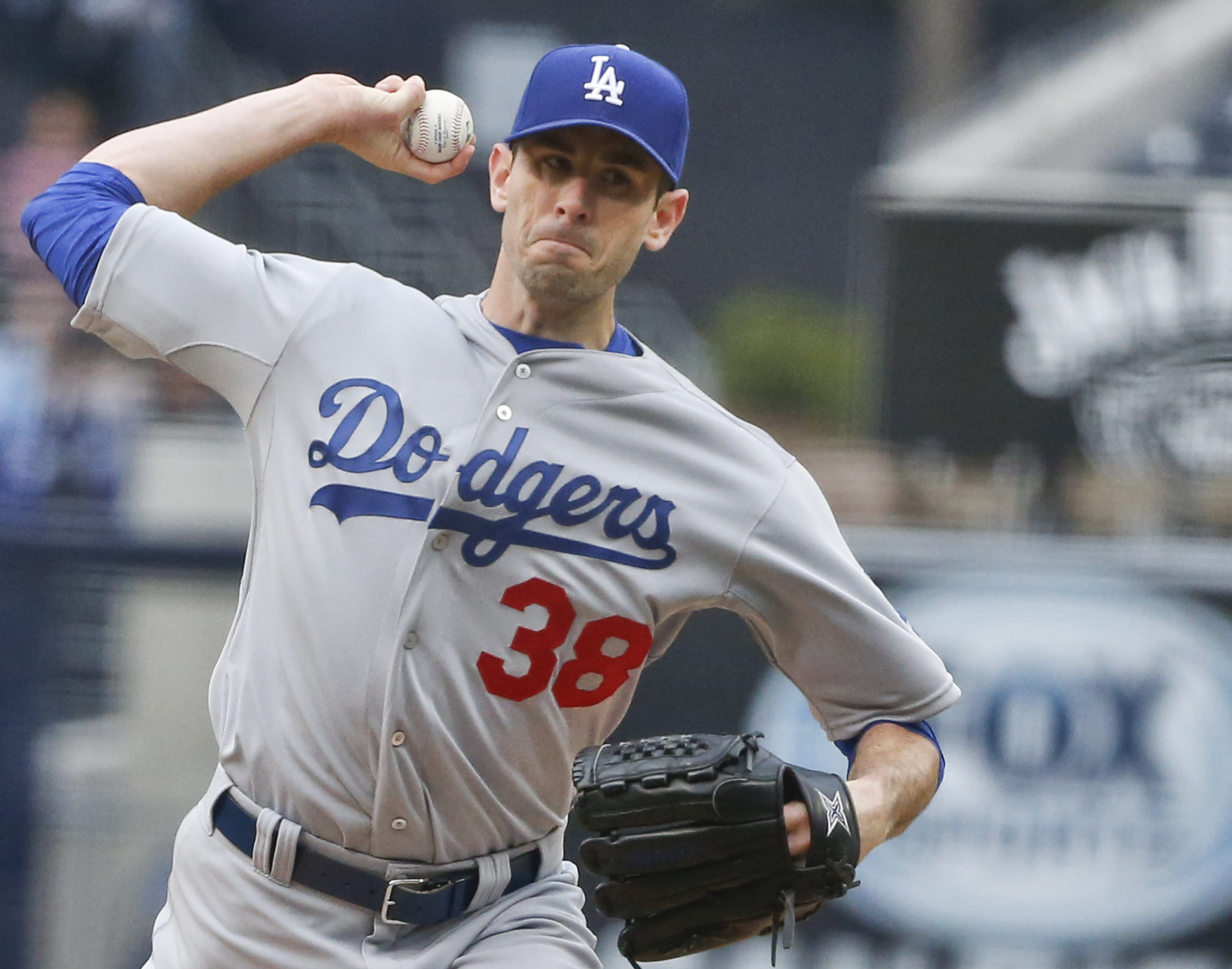 Dodgers pitcher McCarthy out for season with elbow injury